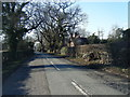 SJ4460 : Platts Lane looking west by Colin Pyle