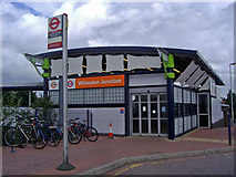 TQ2182 : Willesden Junction station office by David Howard
