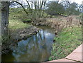 SJ8078 : Mobberley Brook, at Noah's Ark Lane, Cheshire by Anthony O'Neil