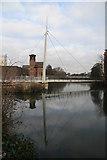 SK3536 : New swing bridge and Derby Industrial Museum by Chris Allen