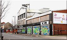 "J3373 : Former ""Gilpins"", Belfast (1) by Albert Bridge"