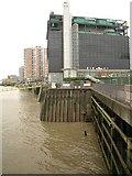 TQ3880 : Waterfront, Blackwall by Derek Harper