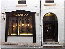 "SD8913 : ""The Roebuck"" (Pub) Yorkshire Street, Rochdale, Lancashire OL16 1BH by robert wade"