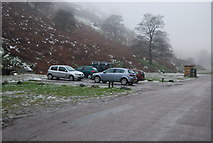SO4494 : National Trust Car Park, Carding Mill Valley by N Chadwick