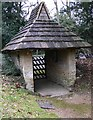 TQ0241 : Lych gate at Grafham church by Shazz