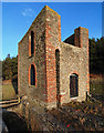 SO3299 : Ladywell Mine engine house. by Dave Croker