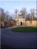 SJ5409 : Hall Courtyard by Gordon Griffiths