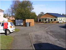 TM2750 : Hall Farm Road & Hall Farm Road Postbox by Adrian Cable