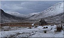 NN1364 : Tigh-na-sleubhaich in winter by Alan Reid