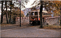 SC4384 : Bridge at Laxey Station by David Dixon