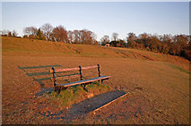 TQ2452 : Colley Hill at sunset by Ian Capper