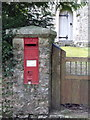 SY3396 : Monkton Wyld: postbox № DT6 13 by Chris Downer