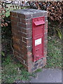 SY3398 : Blackpool Corner: postbox № EX13 111 by Chris Downer