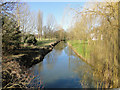 TM2659 : River Deben as it flows through Kettleburgh by Adrian S Pye
