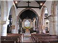 SO8454 : Nave to the Chancel by Bill Nicholls