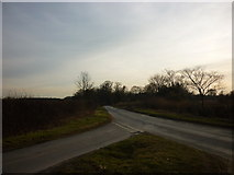SE6959 : Hall Drive (road) towards Sand Hutton by Ian S