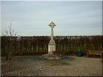 SE6959 : A War Memorial near Sand Hutton by Ian S