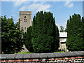 TG0239 : St Margaret's church in Saxlingham by Evelyn Simak