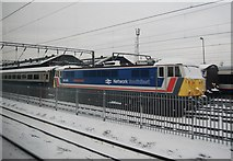 TQ2282 : Locomotive, Locomotive Depot, Willesden Junction by N Chadwick