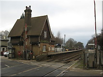 TQ2151 : Betchworth Railway Station by Richard Rogerson