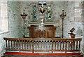 SO5689 : Holy Trinity, Holdgate - Sanctuary by John Salmon