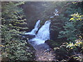 NY3203 : Colwith Force by Sally