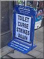 TQ3265 : The toilet curse of Croydon by Christopher Hilton