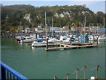 TR3140 : Dover, Yachting Marina by Helmut Zozmann