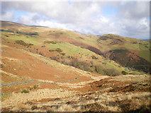 SH6600 : Across the lower reaches of Cwm  Ffernol by Richard Law