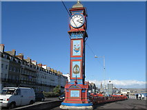 SY6879 : Clock Tower, Weymouth by Alex McGregor