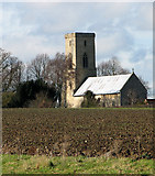 TG0336 : The church of All Saints in Sharrington by Evelyn Simak