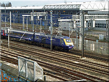 TQ2282 : Up First Great Western train at Scrubs Lane by Robin Webster