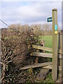 TM3669 : Footpath to Wood Farm by Adrian Cable