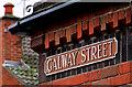 J3374 : Galway Street sign, Belfast by Albert Bridge