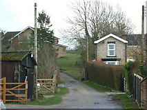 TA0609 : A driveway off St Barnabas Road, Barnetby le Wold by Ian S
