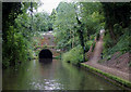 SP0478 : Approaching Wast Hills Tunnel near Hawkesley, Birmingham by Roger  Kidd