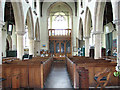 TG2439 : St Mary's church in Northrepps - view west by Evelyn Simak