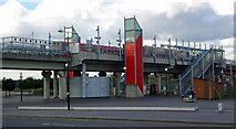 TQ4380 : Gallions Reach Docklands Light Railway Station by Julian Osley
