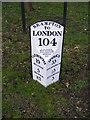 TM4382 : Brampton Milepost by Adrian Cable