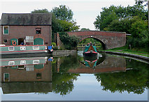 SP0272 : Worcester and Birmingham Canal at Alvechurch by Roger  Kidd