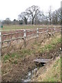 TQ4266 : Footbridge over the drain on Bromley Common north of Scrubs Farm by Mike Quinn