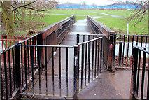 J3673 : Knock River footbridge, Belfast (2) by Albert Bridge