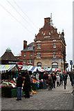 TQ3296 : Enfield Market by Martin Addison