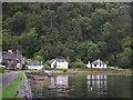 NR7894 : Crinan Harbour Cottages by Vivien Hughes