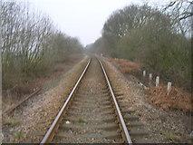 SE6722 : Railway line towards Snaith by JThomas