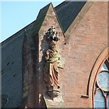 NS2059 : Statue of Moses with horns by Lairich Rig