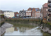 TF3243 : River Witham, Boston (2) by Stephen Richards