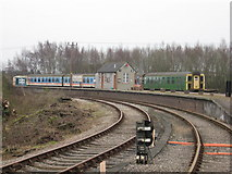 SO6302 : Lydney Junction station, Dean Forest Railway by Gareth James