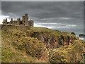 NK1036 : Cruden Bay: New Slains Castle by Martyn Gorman