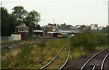 SO8555 : Shrub Hill Station by Steve Daniels